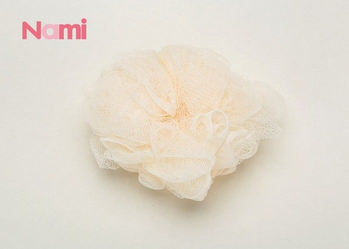 Body Net Plastic Bath Sponge Exfoliating Natural Loofah Facial Pad Mesh Pouf